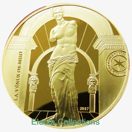 France - 50 Euro d'or BE, Vénus de Milo (Grèce), 2017