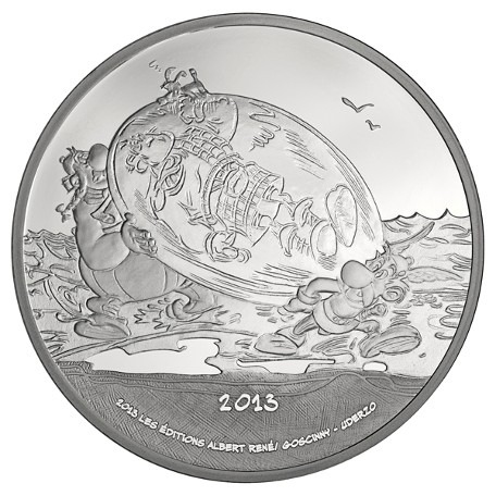France - 10 Euro silver coin PROOF, Astérix, 2013