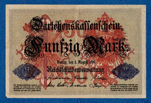 Germany - 50 Marks, Berlin 1914