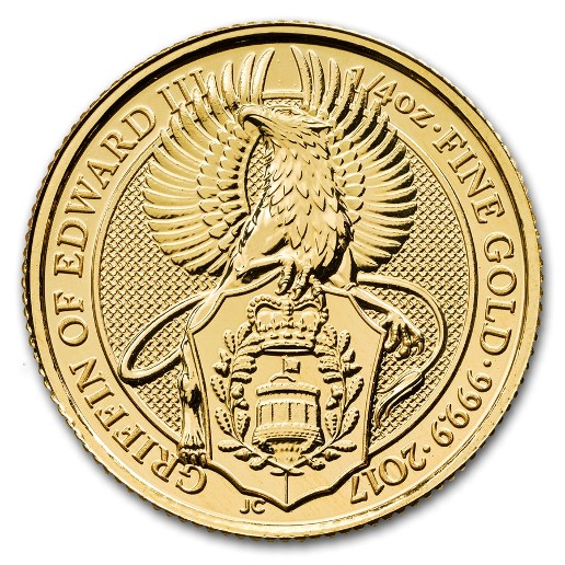 Royaume Uni - Griffin Gold Coin 1/4 oz, 2017