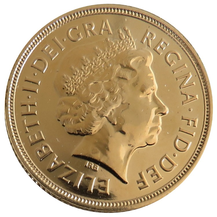 Great Britain - Elizabeth II, Gold Sovereign BU, 2014