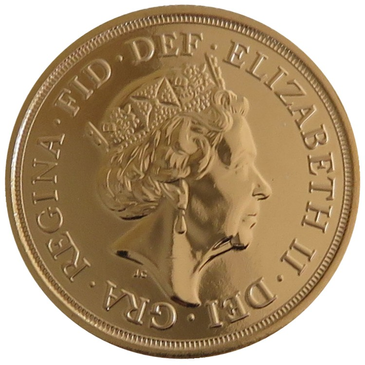 Great Britain - Elizabeth II, Gold Sovereign BU, 2017