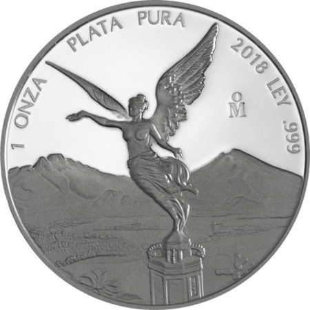 Mexique - Silver coin 1 oz, Libertad, 2018 (PROOF)