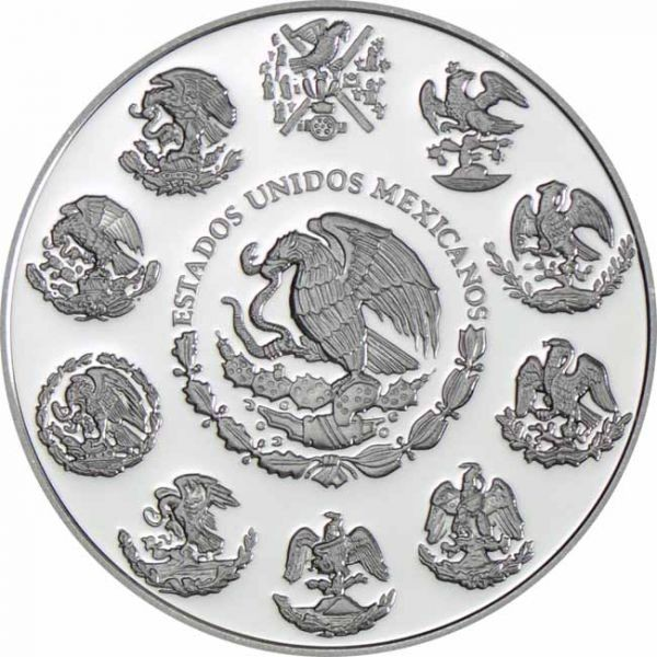 Mexico - Silver coin 1 oz, Libertad, 2020 (PROOF)