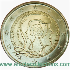 Netherlands – 2 Euro, 200 Years of Kingdom, 2013