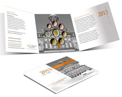 Netherlands - Euro coins, Official BU Set 2013