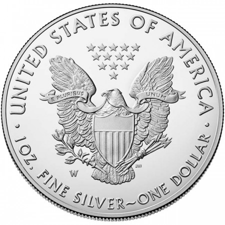 United States - Silver coin 1 USD, U.S.  Eagle, 2019 (proof)