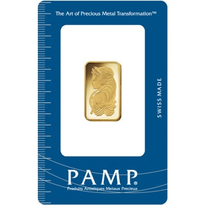 Gold Bar Pamp Fortuna 10 gramms 999.9/1000
