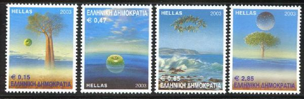 Greece 2003 - Protection of the Environment, Set Album