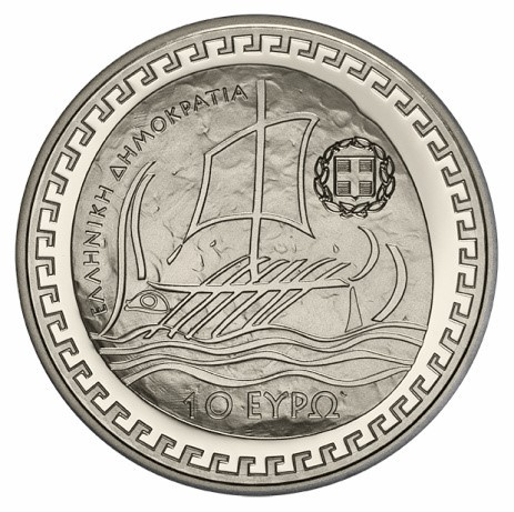 Greece - 10 euro silver PROOF, HERODOTUS, 2018