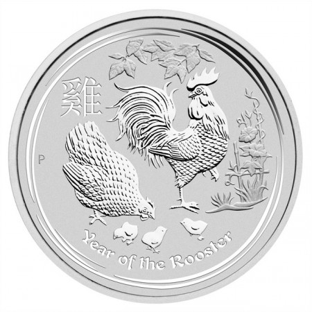 Australia - Silver coin BU 1 oz, Year of the Rooster, 2017